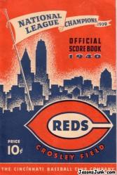 1940_Cincinnati_Reds_Scorebook_01